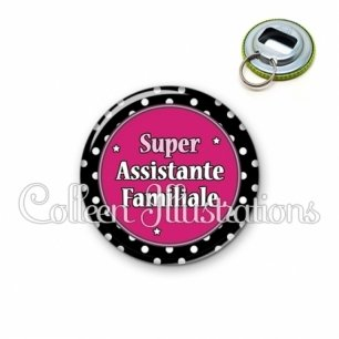 Décapsuleur 56mm Super assistante familiale (016NOI01)