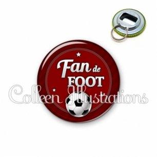 Décapsuleur 56mm Fan de foot (016ROU02)