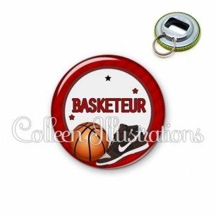 Décapsuleur 56mm Basketteur (016ROU04)