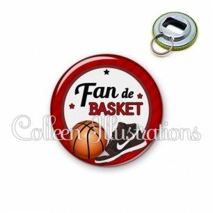 Décapsuleur 56mm Fan de basket (016ROU04)