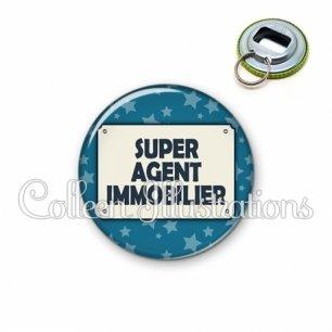 Décapsuleur 56mm Super agent immobilier (018BLE01)