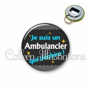 Décapsuleur 56mm Ambulancier qui déchire (019GRI01)