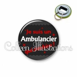 Décapsuleur 56mm Ambulancier qui déchire (019GRI02)