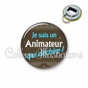 Décapsuleur 56mm Animateur qui déchire (019MAR01)