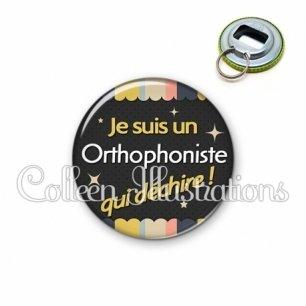 Décapsuleur 56mm Orthophoniste qui déchire (019MUL04)