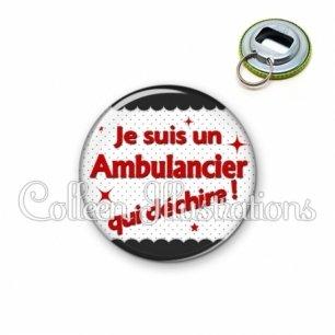 Décapsuleur 56mm Ambulancier qui déchire (019NOI01)