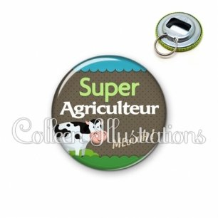 Décapsuleur 56mm Super agriculteur (019VER01)