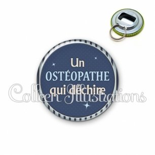 Décapsuleur 56mm Osthéopathe qui déchire (031BLE07)