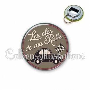 Décapsuleur 56mm Les clés de ma rolls (032MAR01)