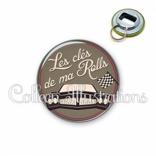 Décapsuleur 56mm Les clés de ma rolls (032MAR02)