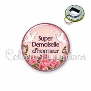 Décapsuleur 56mm Super demoiselle d'honneur (032ROS01)