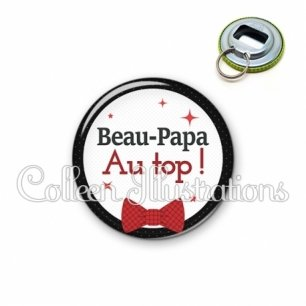 Décapsuleur 56mm Beau-papa au top (036NOI01)