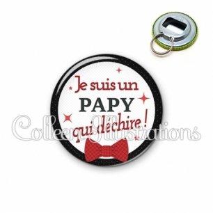 Décapsuleur 56mm Papy qui déchire (036NOI01)