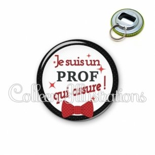 Décapsuleur 56mm Prof qui assure (036NOI01)