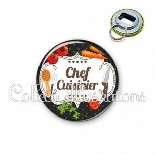 Décapsuleur 56mm Chef cuisinier (045NOI04)