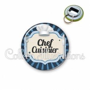 Décapsuleur 56mm Chef cuisinier (048BLE01)