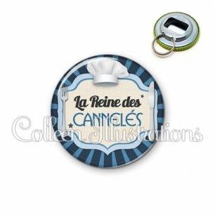 Décapsuleur 56mm La reine des cannelés (048BLE01)