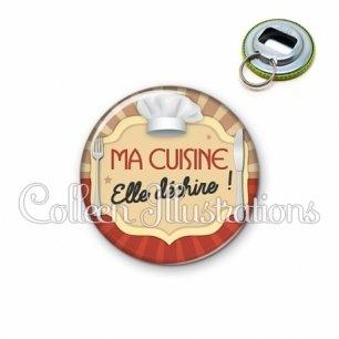 Décapsuleur 56mm Ma cuisine elle déchire (048MAR01)
