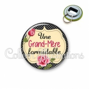 Décapsuleur 56mm Grand-mère formidable (061NOI01)