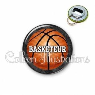 Décapsuleur 56mm Basketteur (062GRI01)