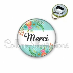 Décapsuleur 56mm Merci (066VER02)