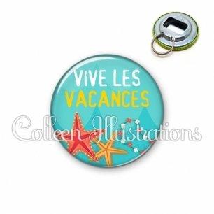 Décapsuleur 56mm Vive les vacances (069BLE01)