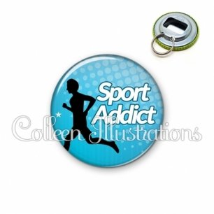 Décapsuleur 56mm Sport addict (082BLE01)