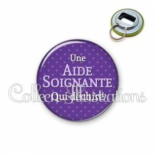 Décapsuleur 56mm Aide-soignante qui déchire (087VIO01)