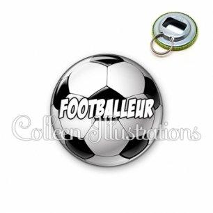 Décapsuleur 56mm Footballeur (089MUL01)