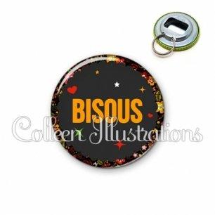 Décapsuleur 56mm Bisous (101NOI01)