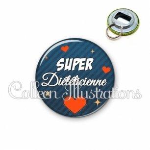 Décapsuleur 56mm Super diététicienne (103BLE01)