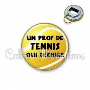 Décapsuleur 56mm Prof de tennis qui déchire (130JAU01)