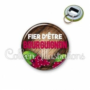 Décapsuleur 56mm Fier d'être bourguignon (137MAR03)