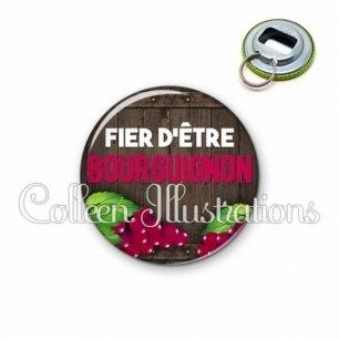 Décapsuleur 56mm Fier d'être bourguignon (137MAR04)