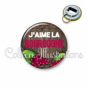 Décapsuleur 56mm J'aime la bourgogne (137MAR04)