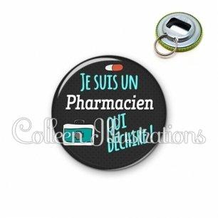 Décapsuleur 56mm Pharmacien qui déchire (156GRI01)