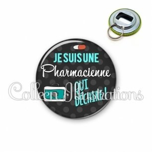 Décapsuleur 56mm Pharmacienne qui déchire (156GRI02)
