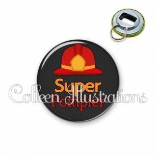 Décapsuleur 56mm Super pompier (160GRI01)