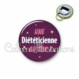 Décapsuleur 56mm Diététicienne au top (169VIO01)