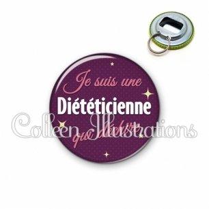 Décapsuleur 56mm Diététicienne qui déchire (169VIO01)