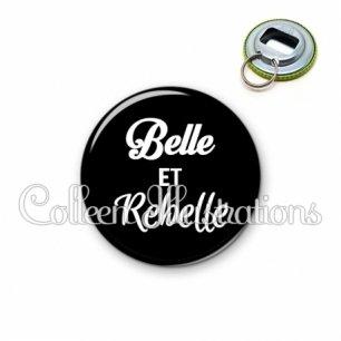 Décapsuleur 56mm Belle et rebelle (181NOI09)