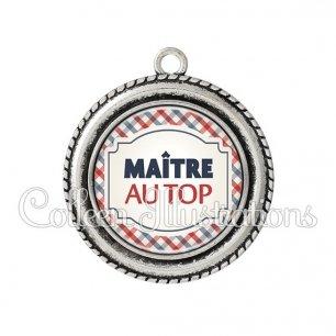 Pendentif résine Maître au top (013MUL01)