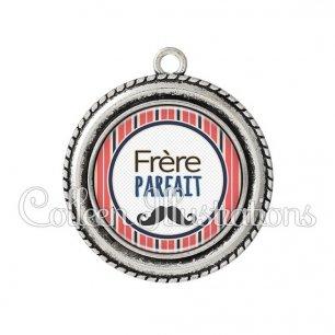 Pendentif résine Frère parfait (016MUL01)