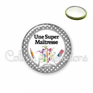 Miroir 56mm Super maîtresse (001GRI01)