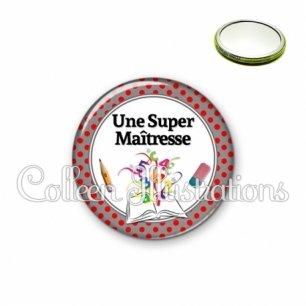 Miroir 56mm Super maîtresse (001GRI02)