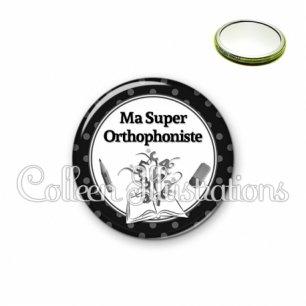 Miroir 56mm Ma super orthophoniste (001NOI02)