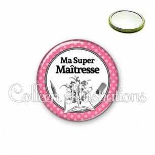 Miroir 56mm Ma super maîtresse (001ROS01)