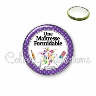Miroir 56mm Maîtresse formidable (001VIO01)