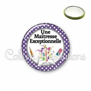 Miroir 56mm Maîtresse exceptionnelle (001VIO04)