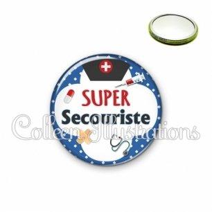 Miroir 56mm Super secouriste (002BLE01)
